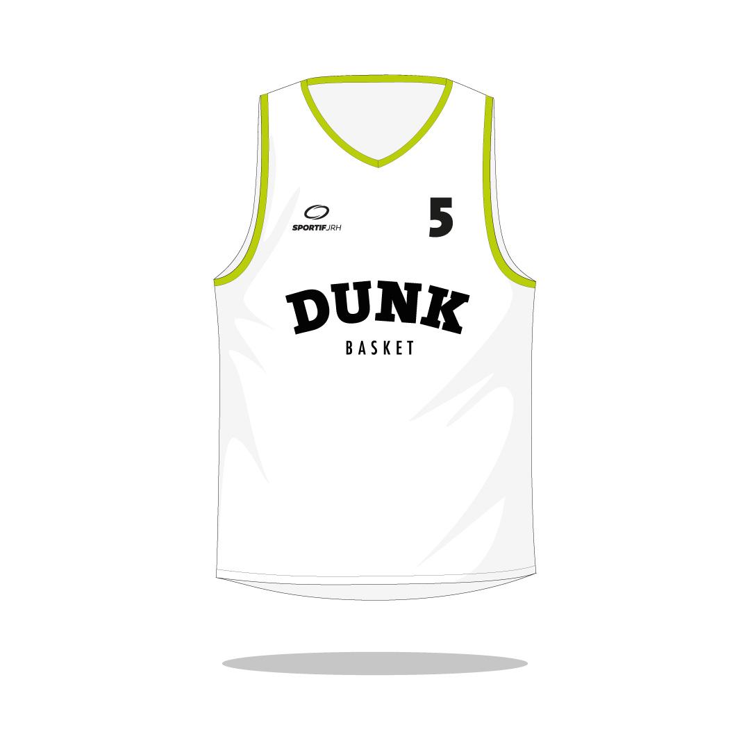 Maillot basket dunk devant