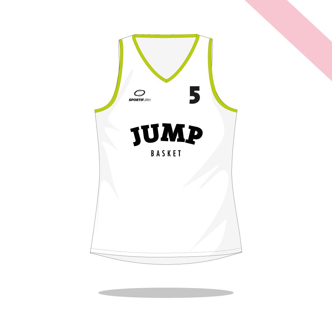 Maillot basket Jump devant