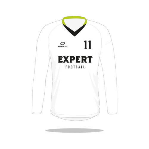 Maillot football Expert manches longues devant