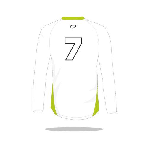 Maillot handball Aero manches longues dos