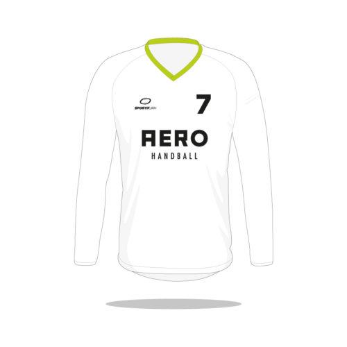 Maillot handball Aero manches longues devant