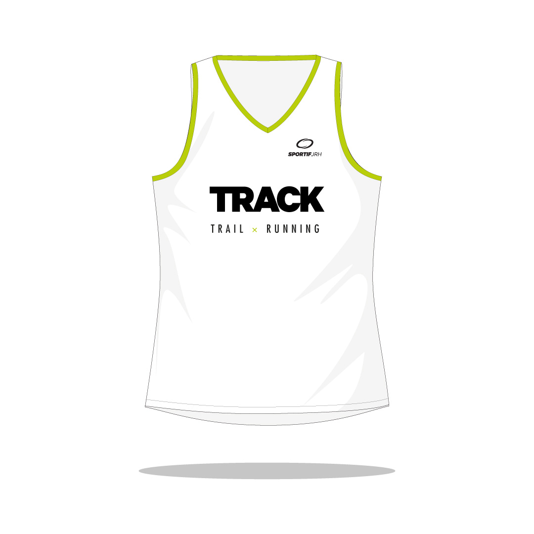 Débardeur running Track devant