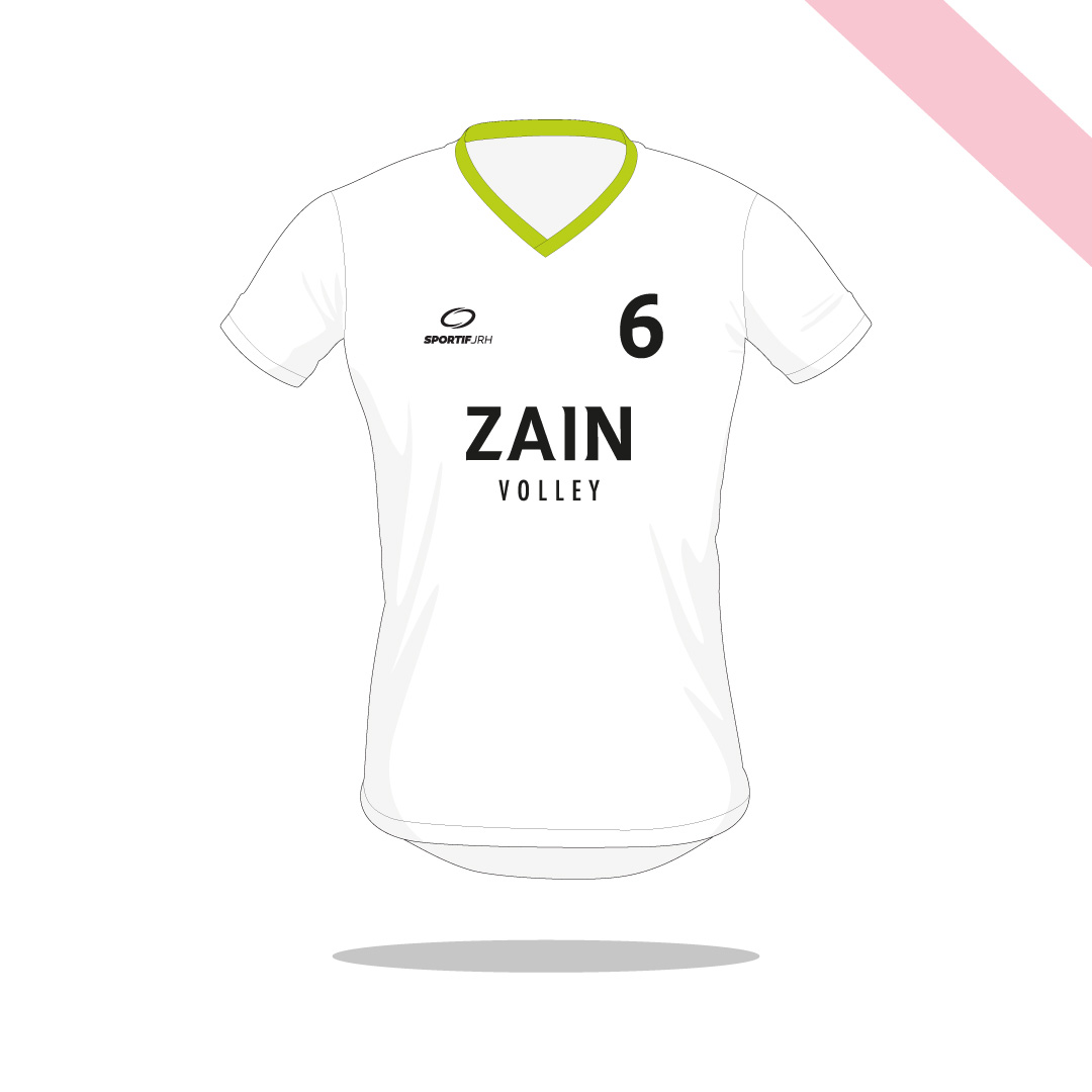 Maillot volley Zain devant
