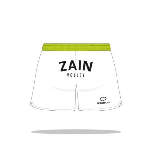 Short volley Zain dos
