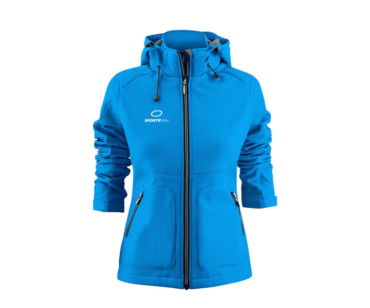 veste karting femme bleu