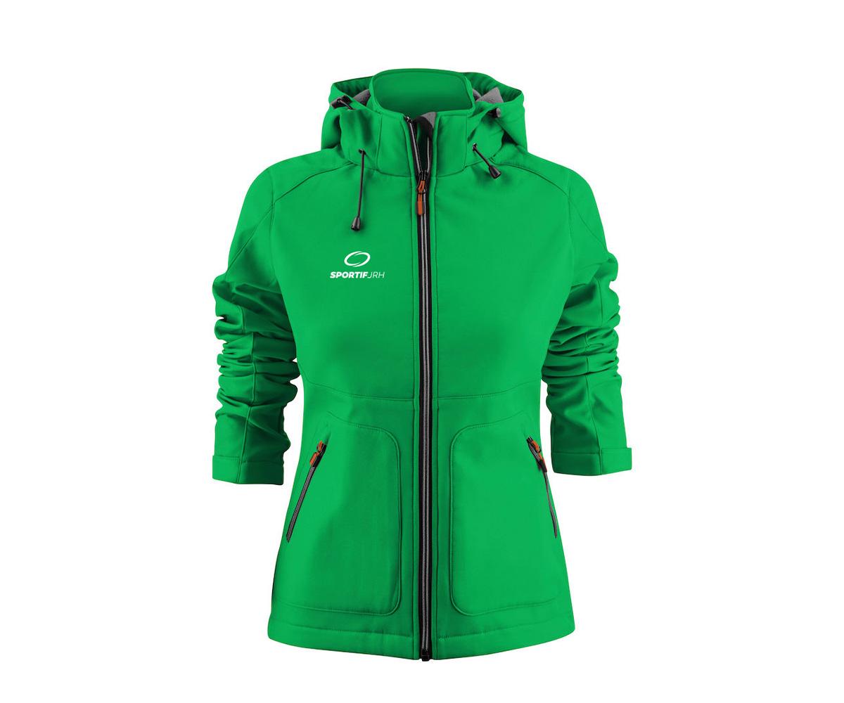 veste karting femme vert