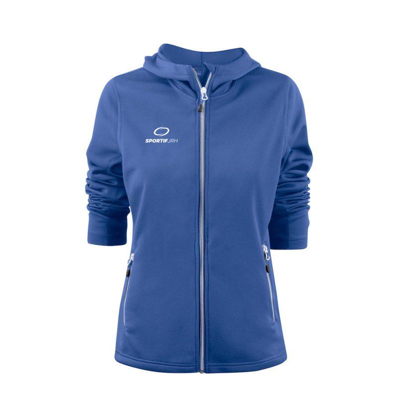 veste layback femme bleu
