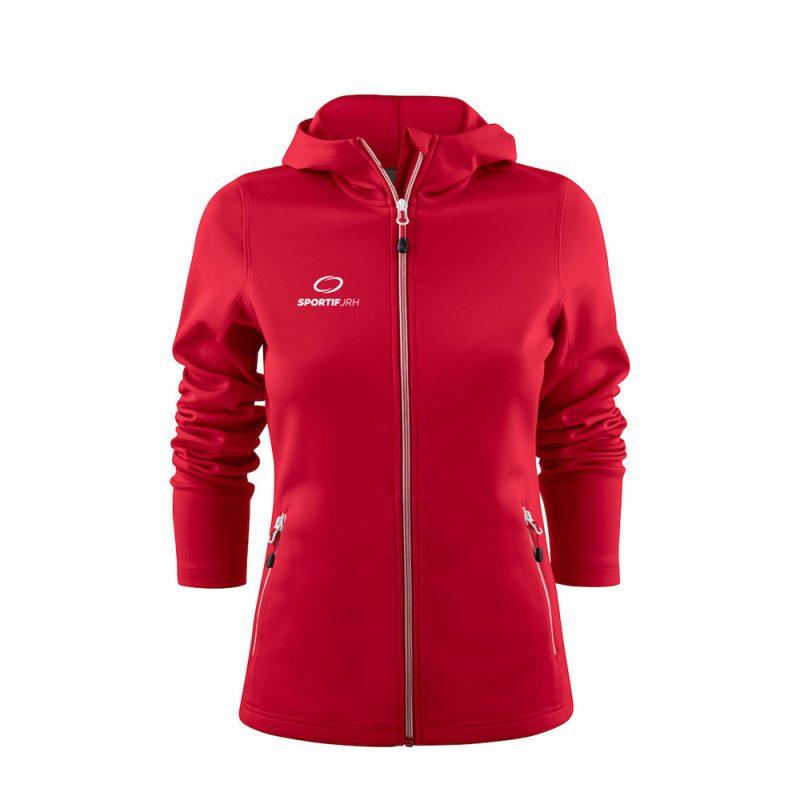 veste layback femme rouge