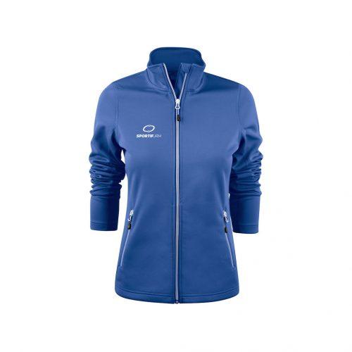 veste powerslide femme bleu